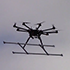icon of flying octocopter linking to larger image