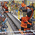 icon of assemply line with KUKA robots linking to larger image
