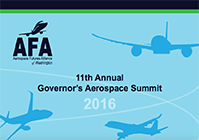 AFA 11th Annual Governor's Aerospace Summit 2016 Title Slide