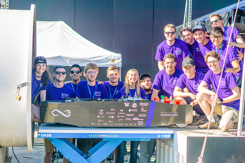 The UW Hyperloop Team