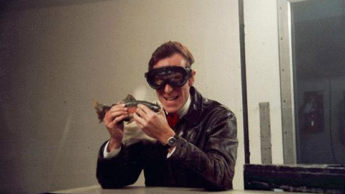 "Bill Nye the Science Guy in the ""Kirsten Wind Tunnel of Science"""