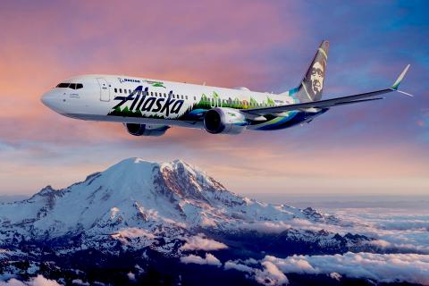 Alaska Airlines Boeing
